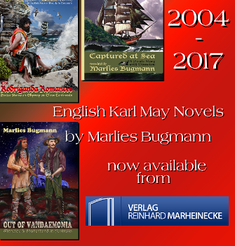 Bugmann's English Karl May Books now from Verlag Reinhard Marheinecke